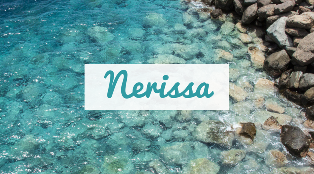 "Love both the water and Shakespeare? Nerissa is a character from the famous playwright's ""Merchant of Venice."""