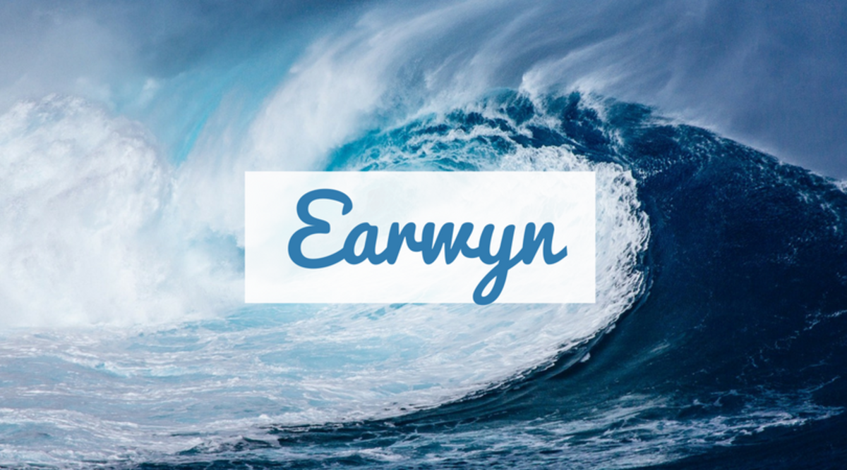 "Meaning ""friend of the sea,"" Earwyn is a name perfect for a child who is bound to love the ocean."