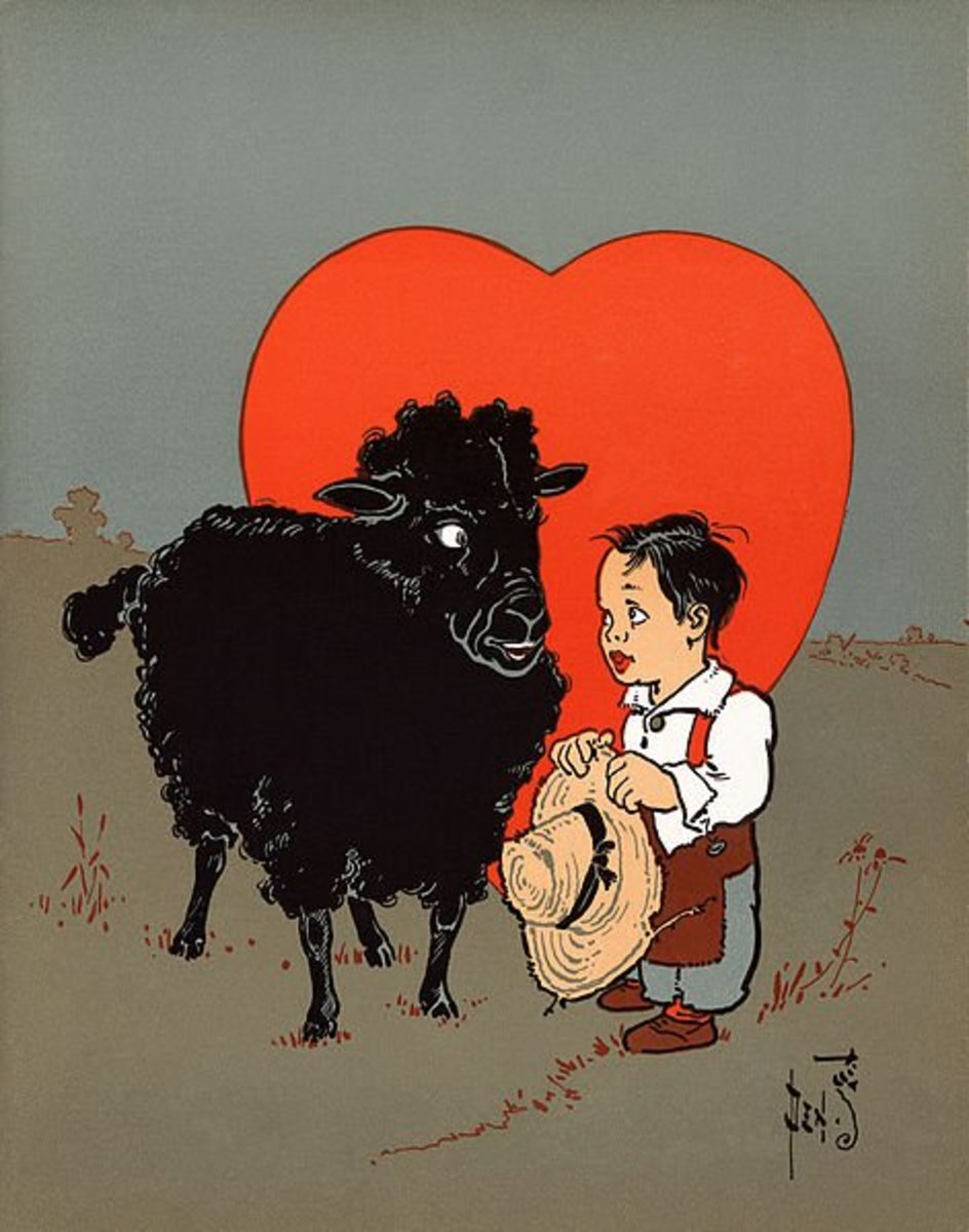 Even the family black sheep deserves love.