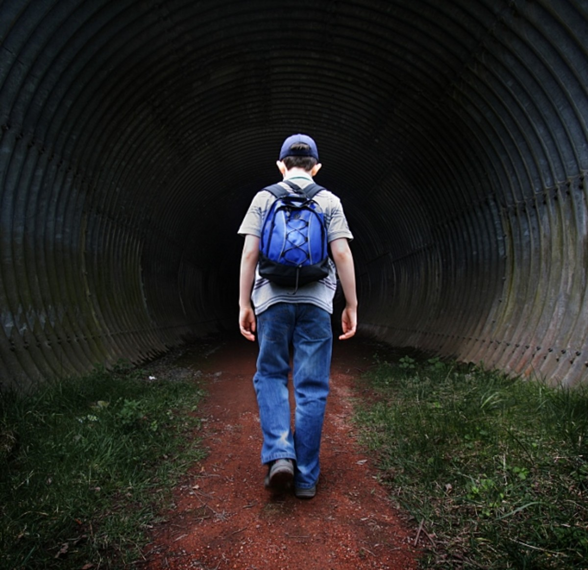 Letting your child go is like letting him walk down a dark tunnel without you, but it's inevitable.