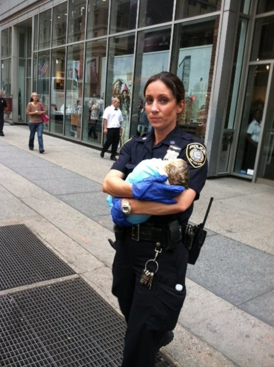 The police may not be able to help deliver your child if you have missed any of the steps needed to prove your right to the child and prove their ability to assist you.