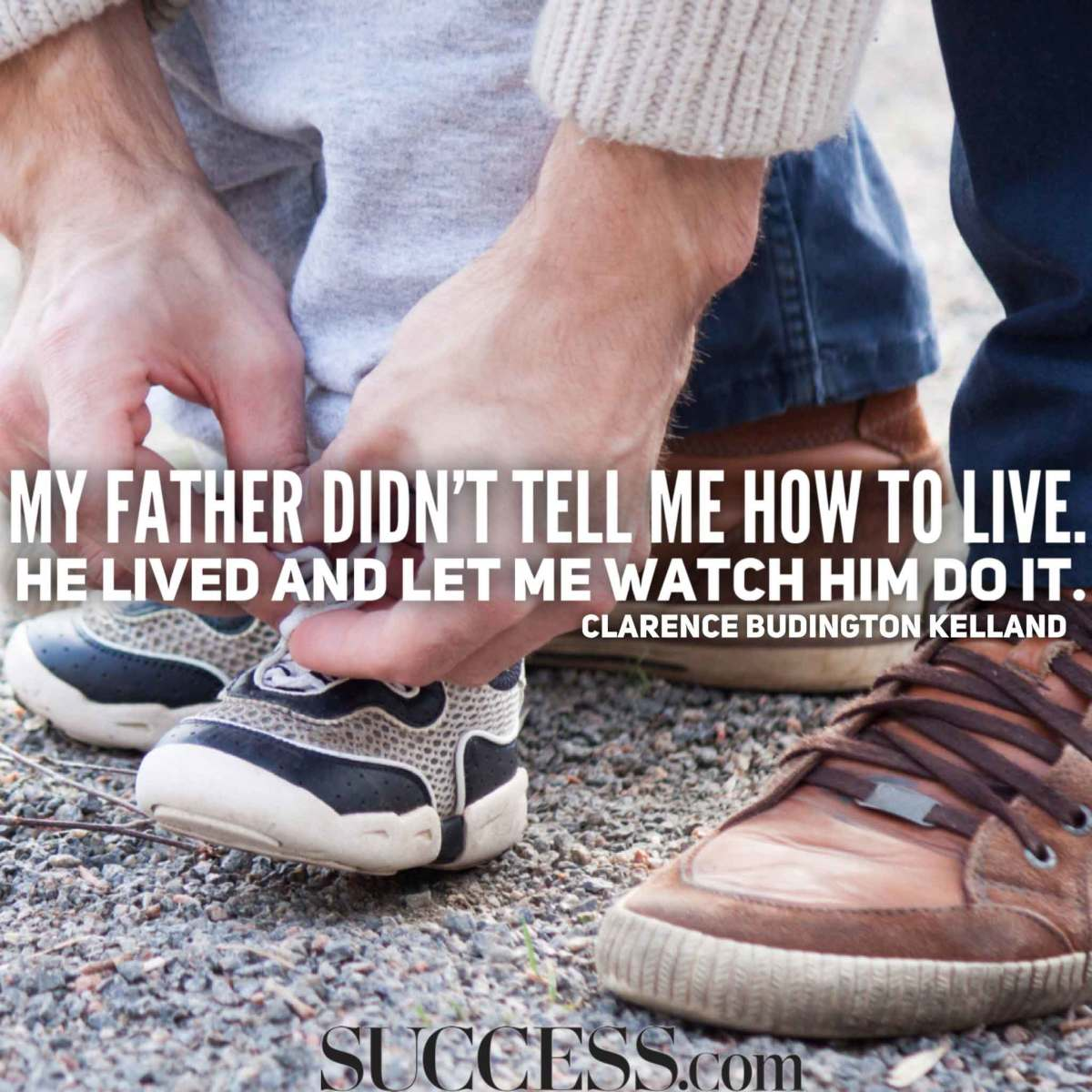 One of the noblest commendations a man could have is the praise of his son.