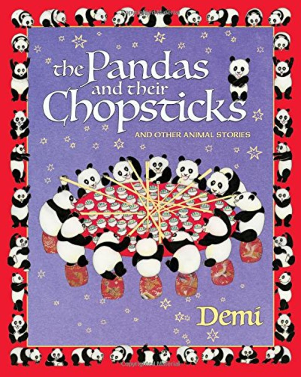 The Pandas and Their Chopsticks by Demi