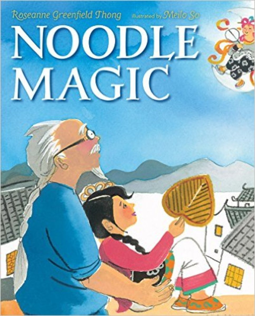 Noodle Magic:  Best Books for Kids About China:  Families with Children from China