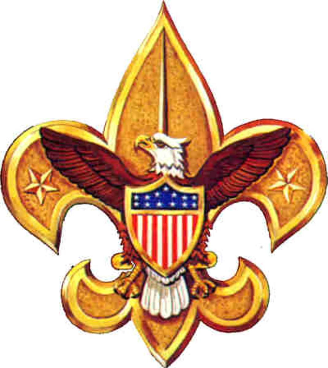 TheBoy Scout  Fleur-de-lis is a symbol to remind the scouts of their three duties: Their duties to themselves, their duties to others and their duties to God.