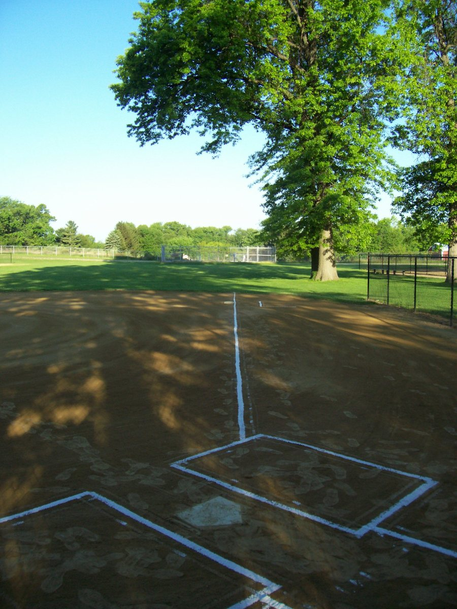 The ball field is waiting.