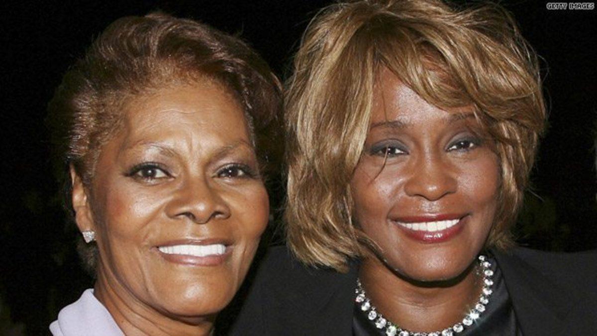 Dionne Warwick and Whitney Houston