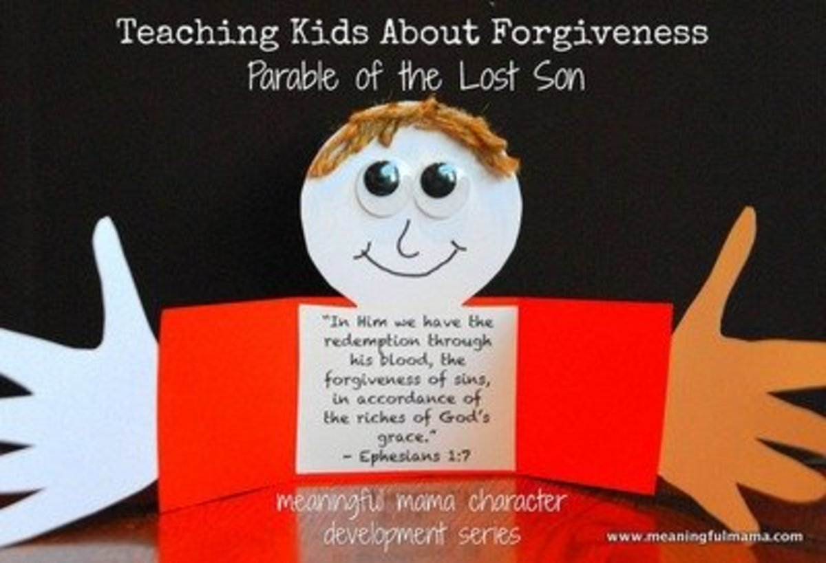 Crafts For Honesty And Forgiveness
