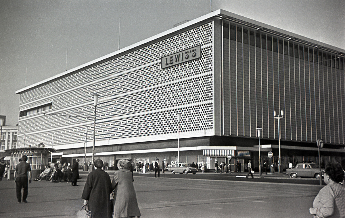 Lewis's department store, where my grandma worked until her eventual retirement at the age of 74.