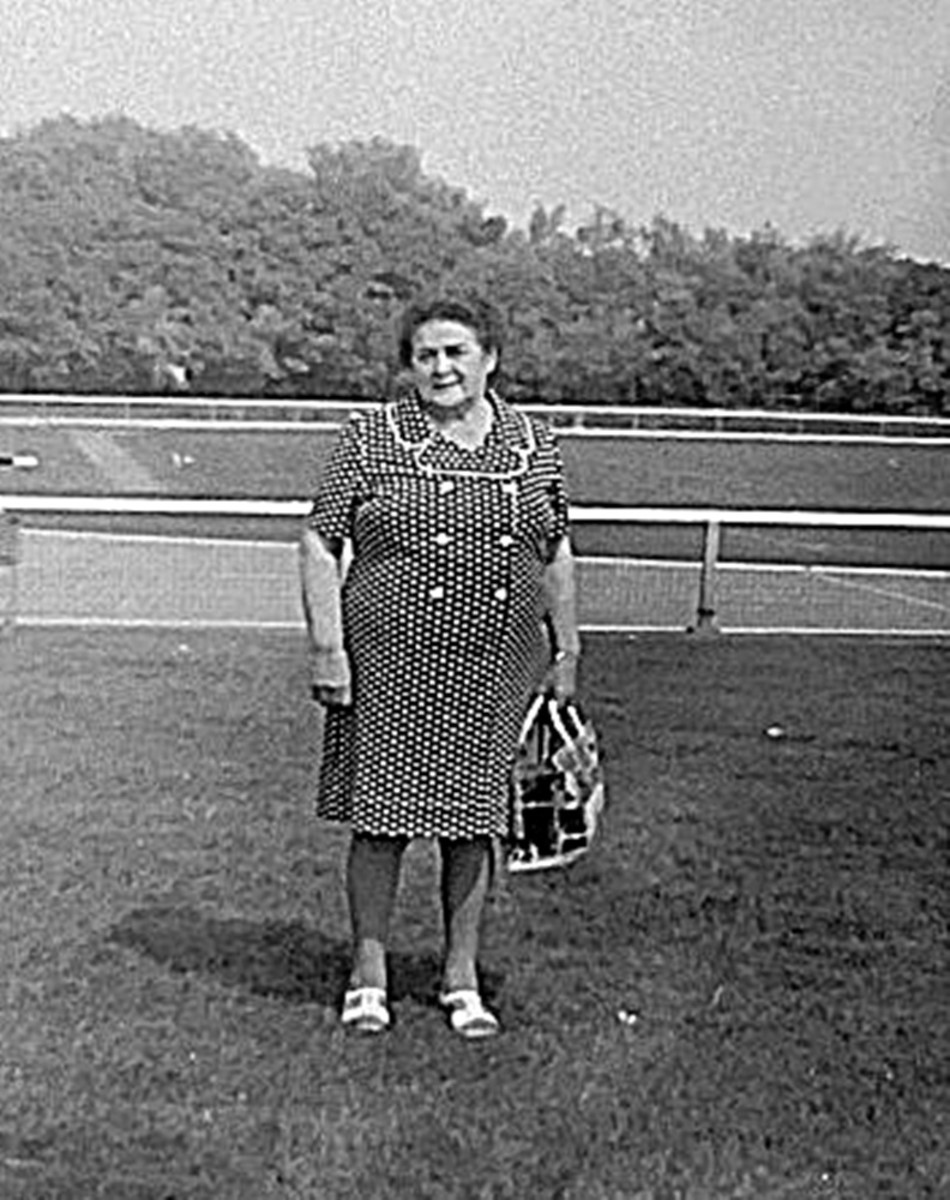 Grandma on a day out to Stanley Park in the early 1970s.