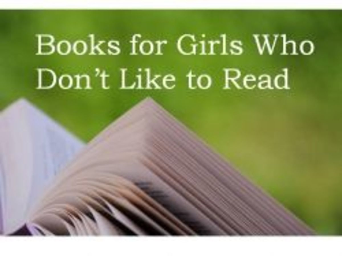 Books for girls who don't like to read