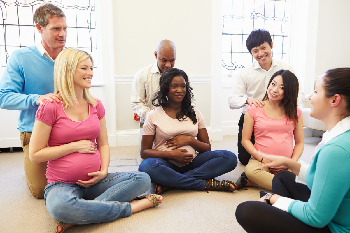 Attend birthing classes during your second trimester, while you still have some energy.