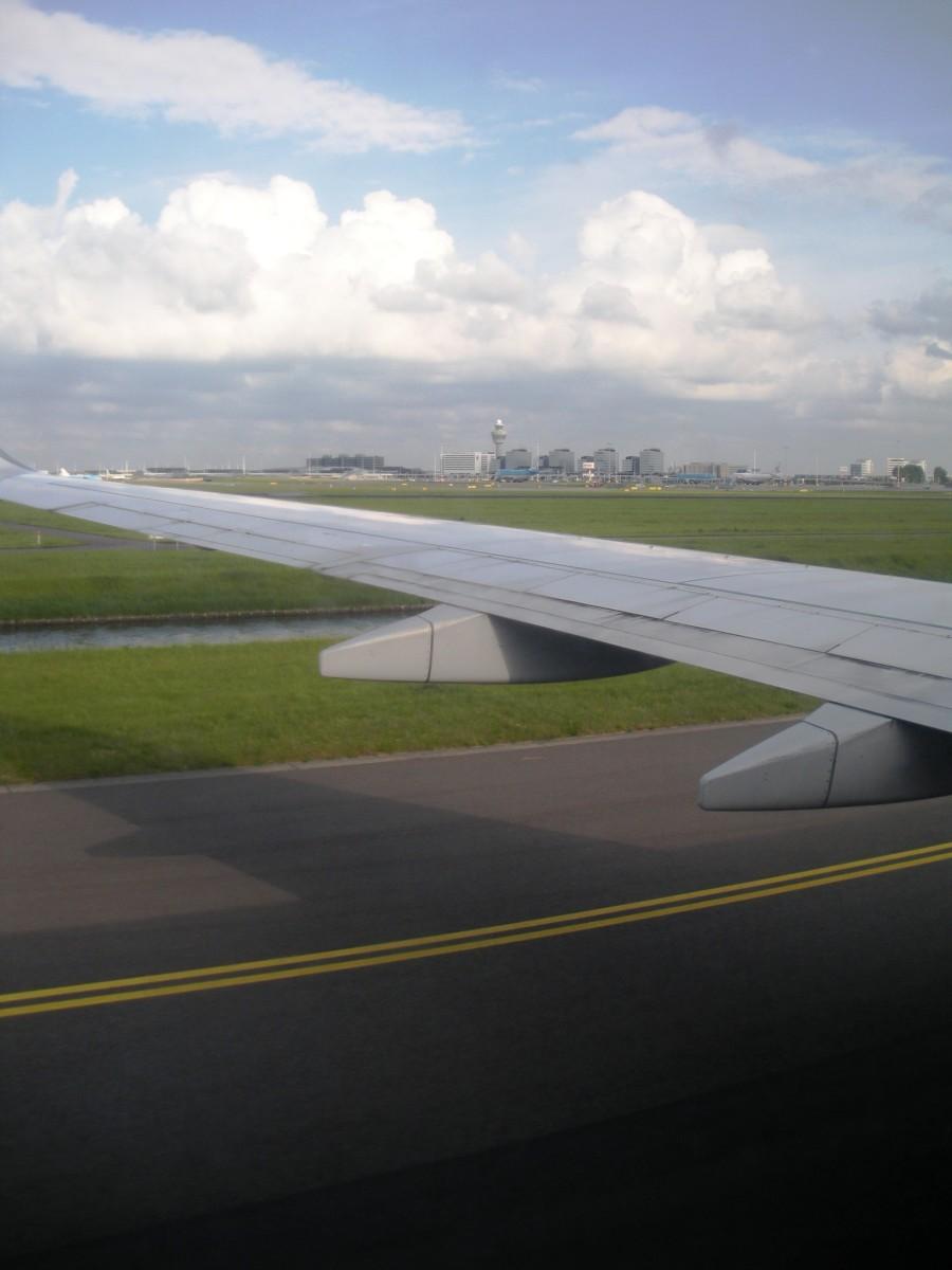 Safely landed.