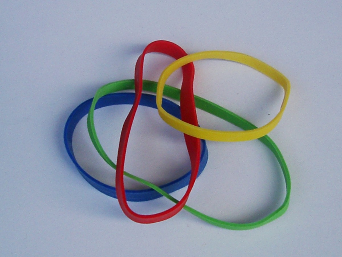 The rubber band method can be cheap and effective.