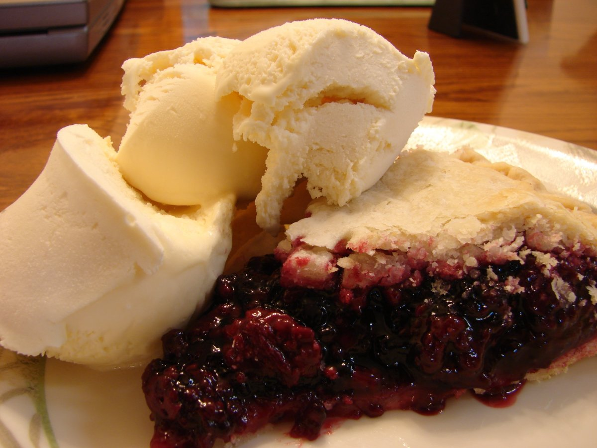 Blackberry pie has the same rhythm as strawberry pie.