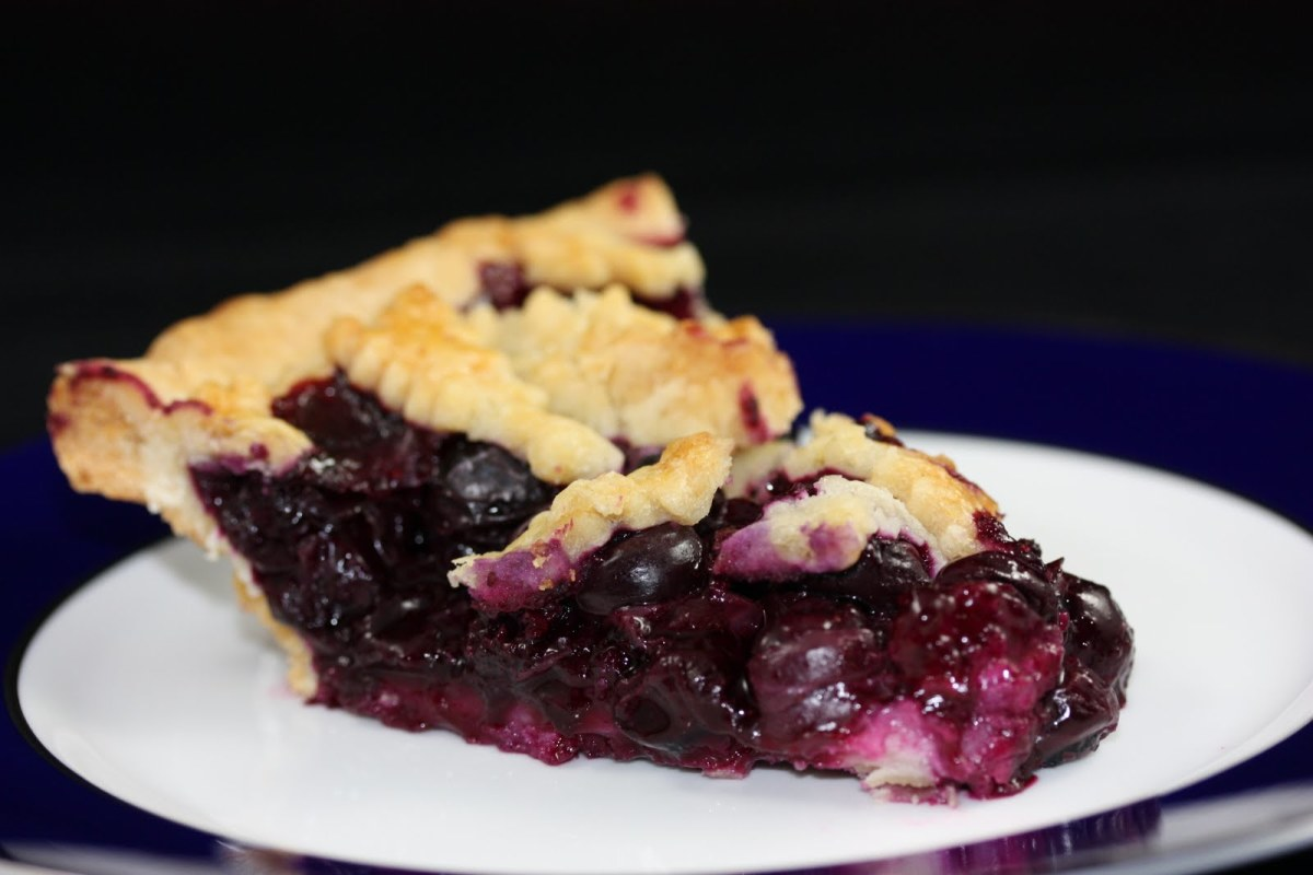 Blueberry pie has the same rhythm as strawberry pie.