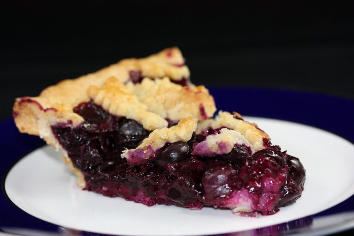 Blueberry pie has the same rhythm as strawberry pie.