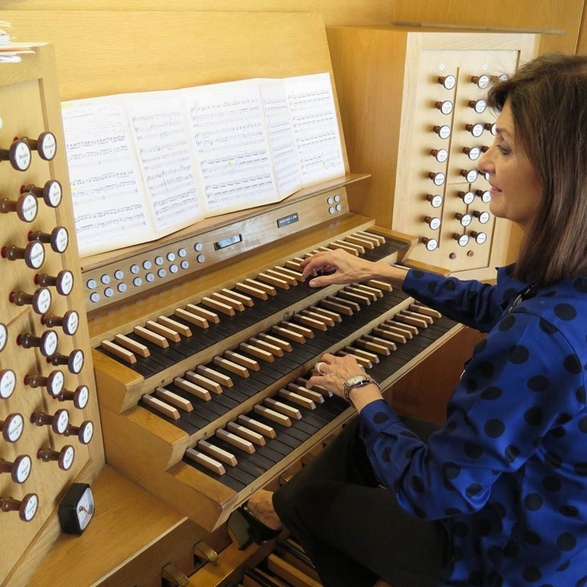 BYU's Jerusalem Center Organ.