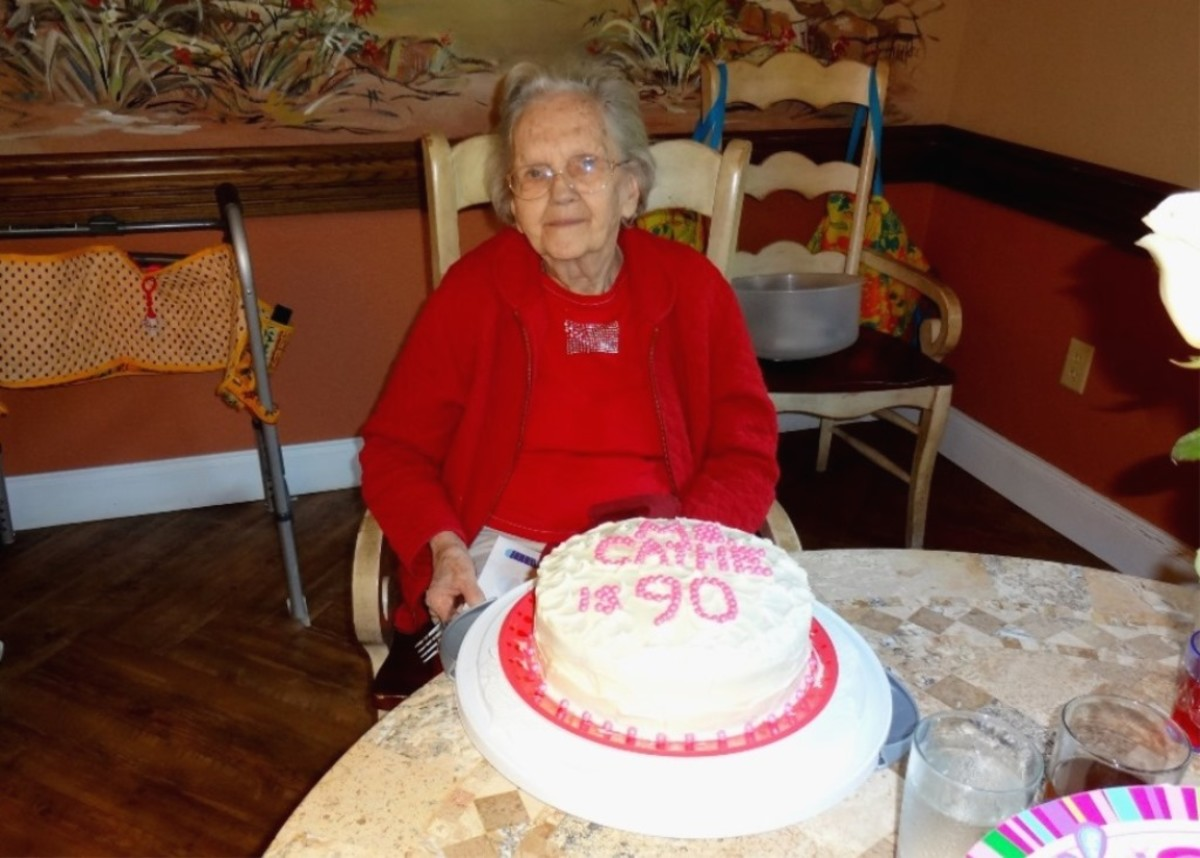 Find out what kind of cake your senior likes and make one for their birthday.
