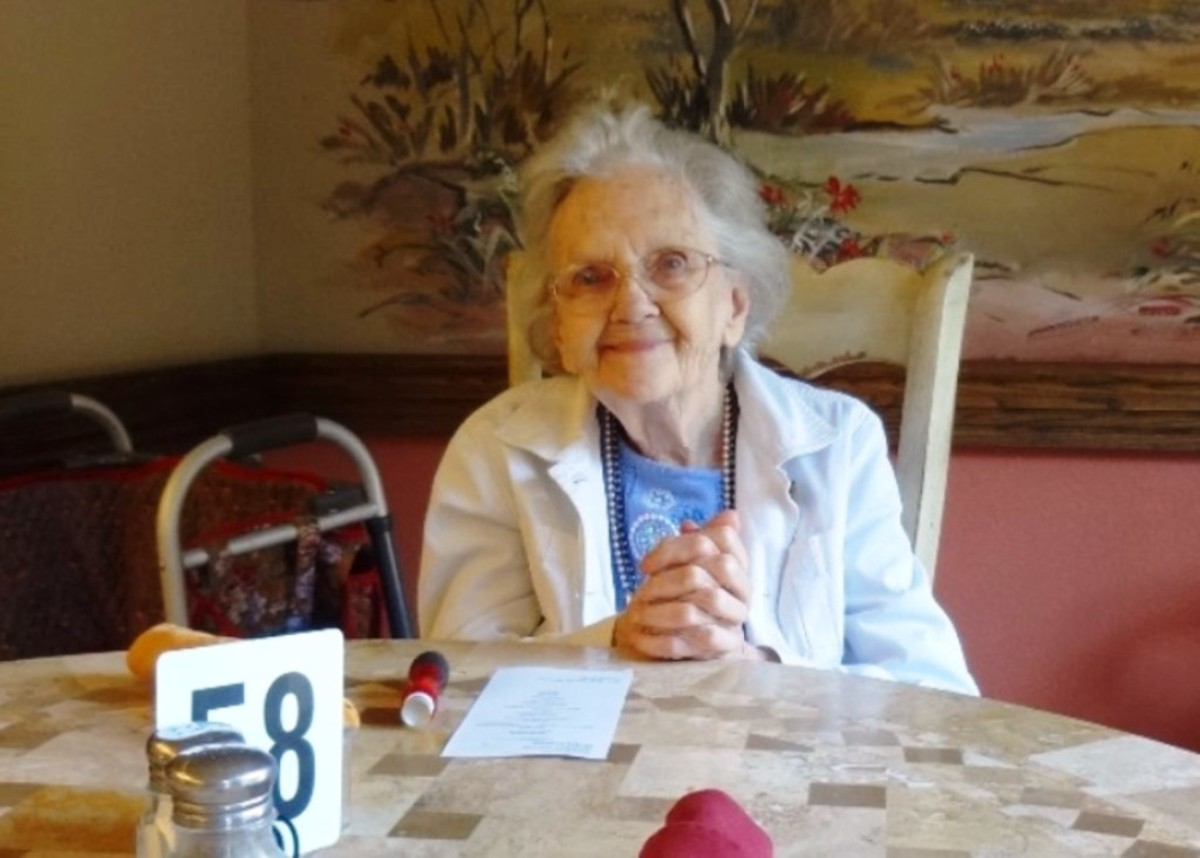 Sharing a meal with your senior gives them a chance to enjoy your company.