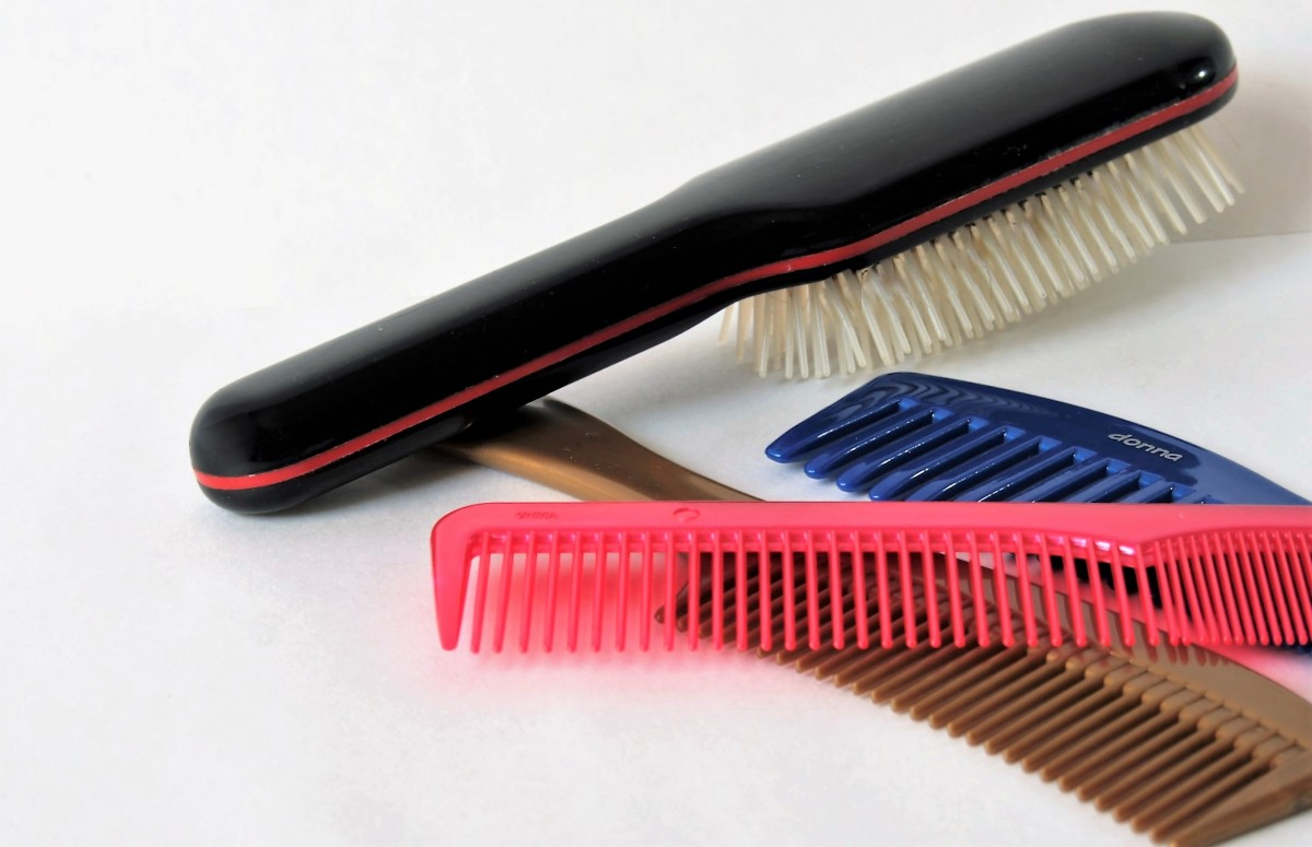 You might want to throw out your hairbrushes and buy new ones. In the future, never share brushes between family members.