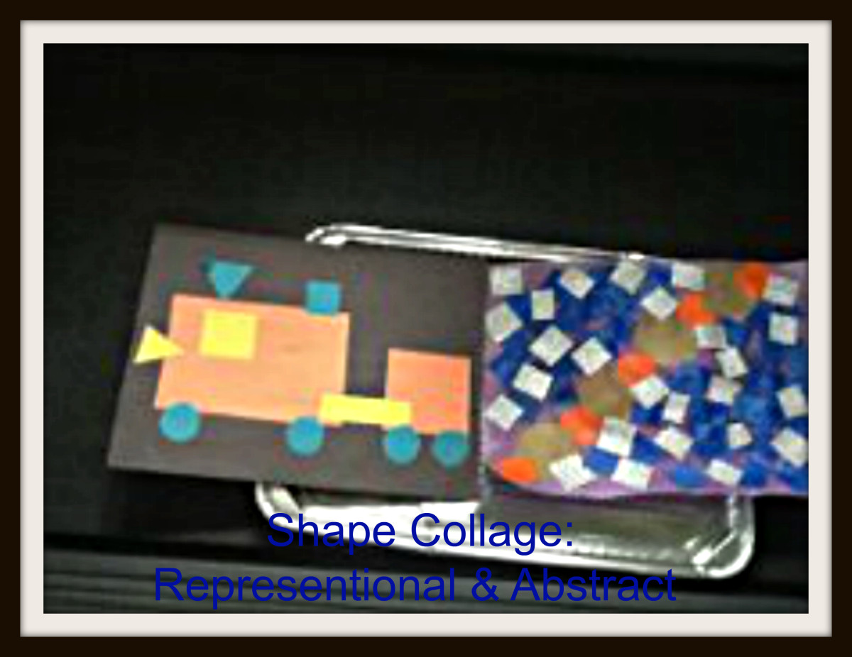 Shape collages offer many options.