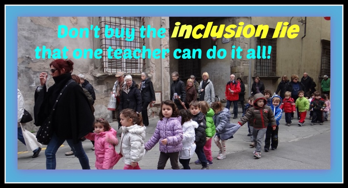 Don't get talked into inclusion only. Your child needs special help with special educators.