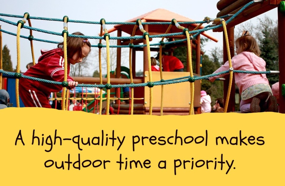 During outdoor time, kids build confidence in their physical skills, take reasonable risks, and enjoy the innumerable benefits of uninterrupted free play.