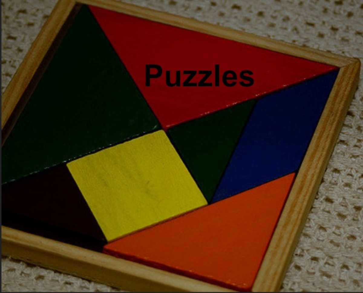 Puzzles promote fine motor skills and problem solving.Garage sales and children's re-sale stores are good resources for wooden puzzles at reasonable prices.