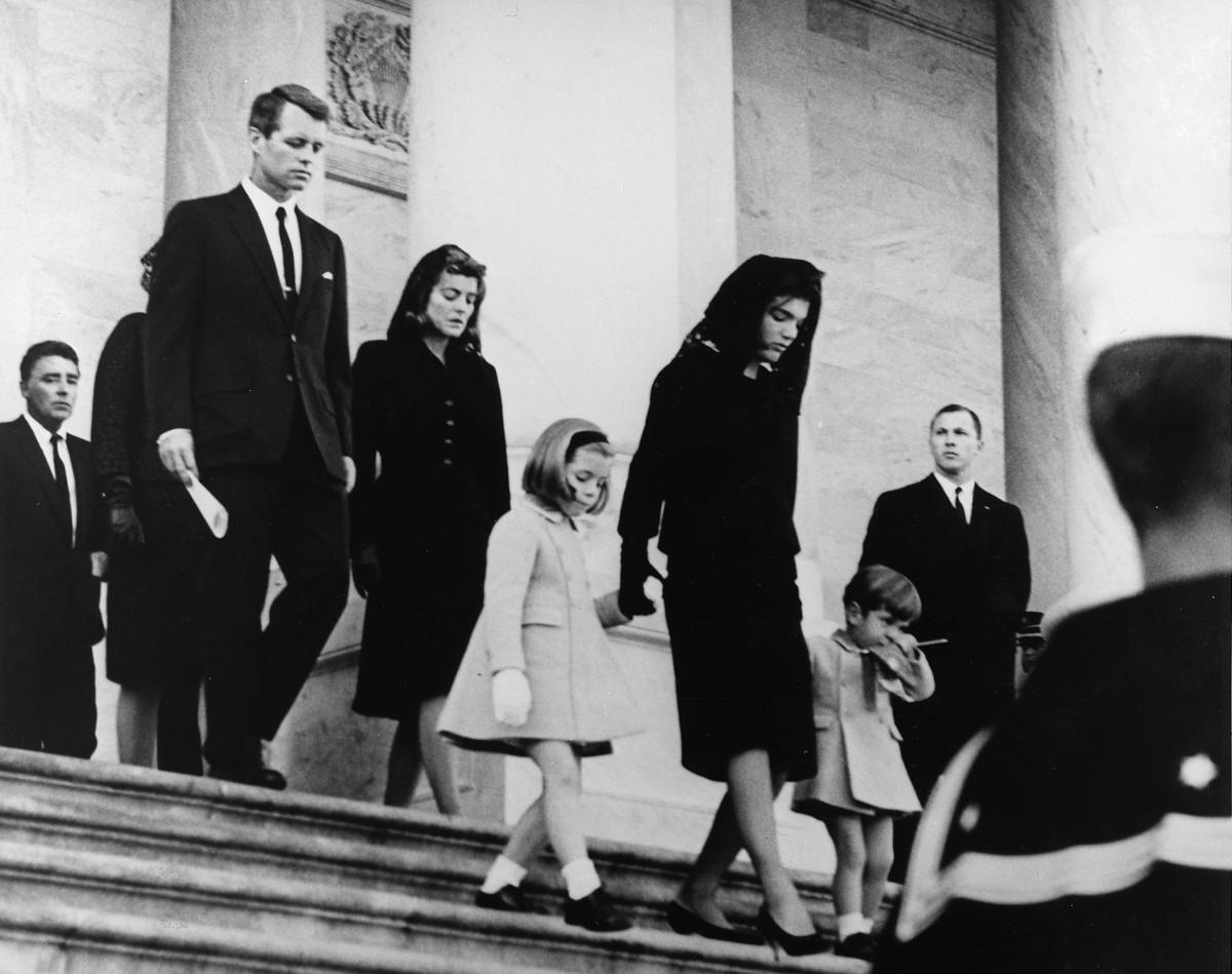 Caroline Kennedy lost her father nine months after I lost mine.