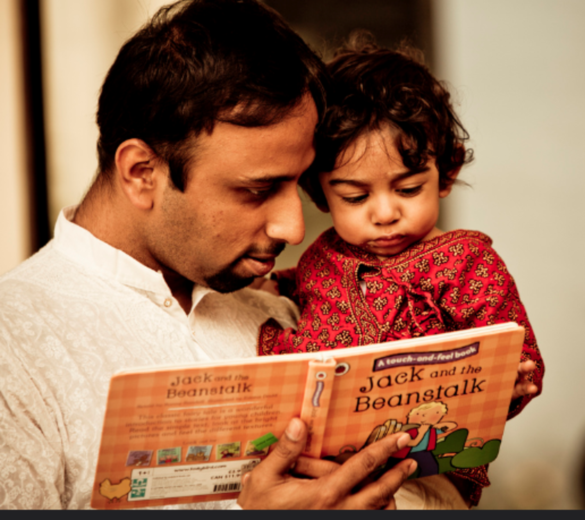 It's never too early to build the foundation for reading.