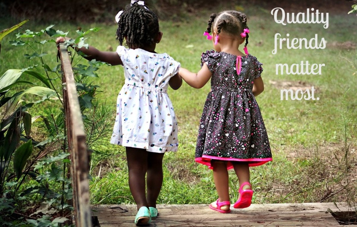 Many children on the autism spectrum prefer just one or two friends.