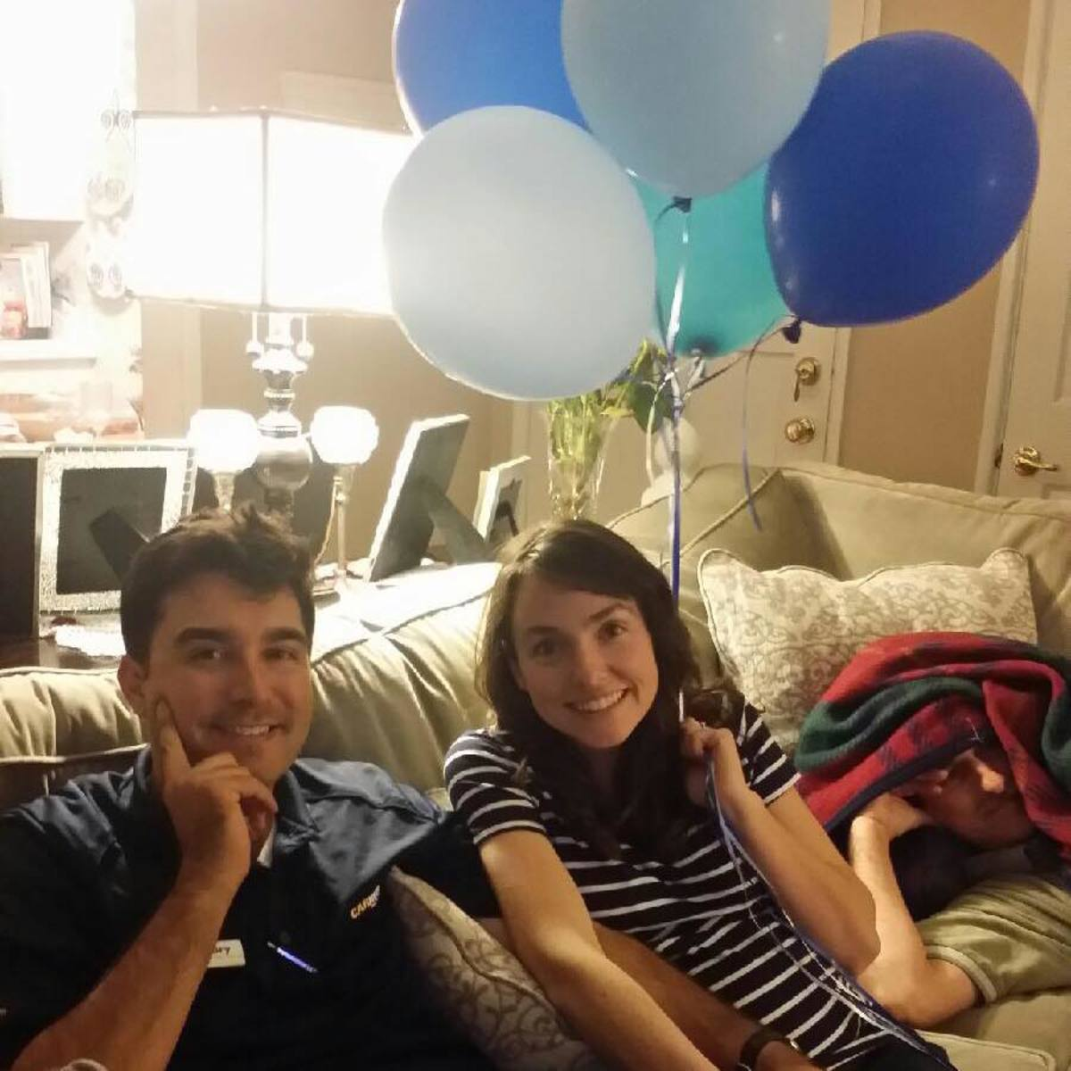 Excited to welcome Baby Boy #2 in October!