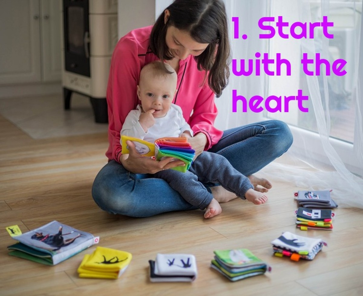 Teaching a child to read should start in the affective realm, not the cognitive one.