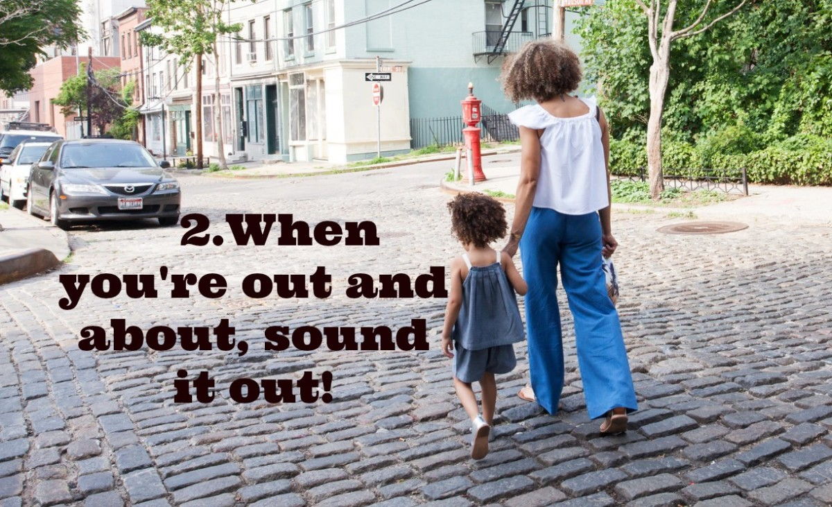 """Parents should teach phonological awareness in an organic way: reciting nursery rhymes, listening to kids' music, and playing games. They should make up rhymes throughout the day: """"Get in the car. We're not going far!"""""""