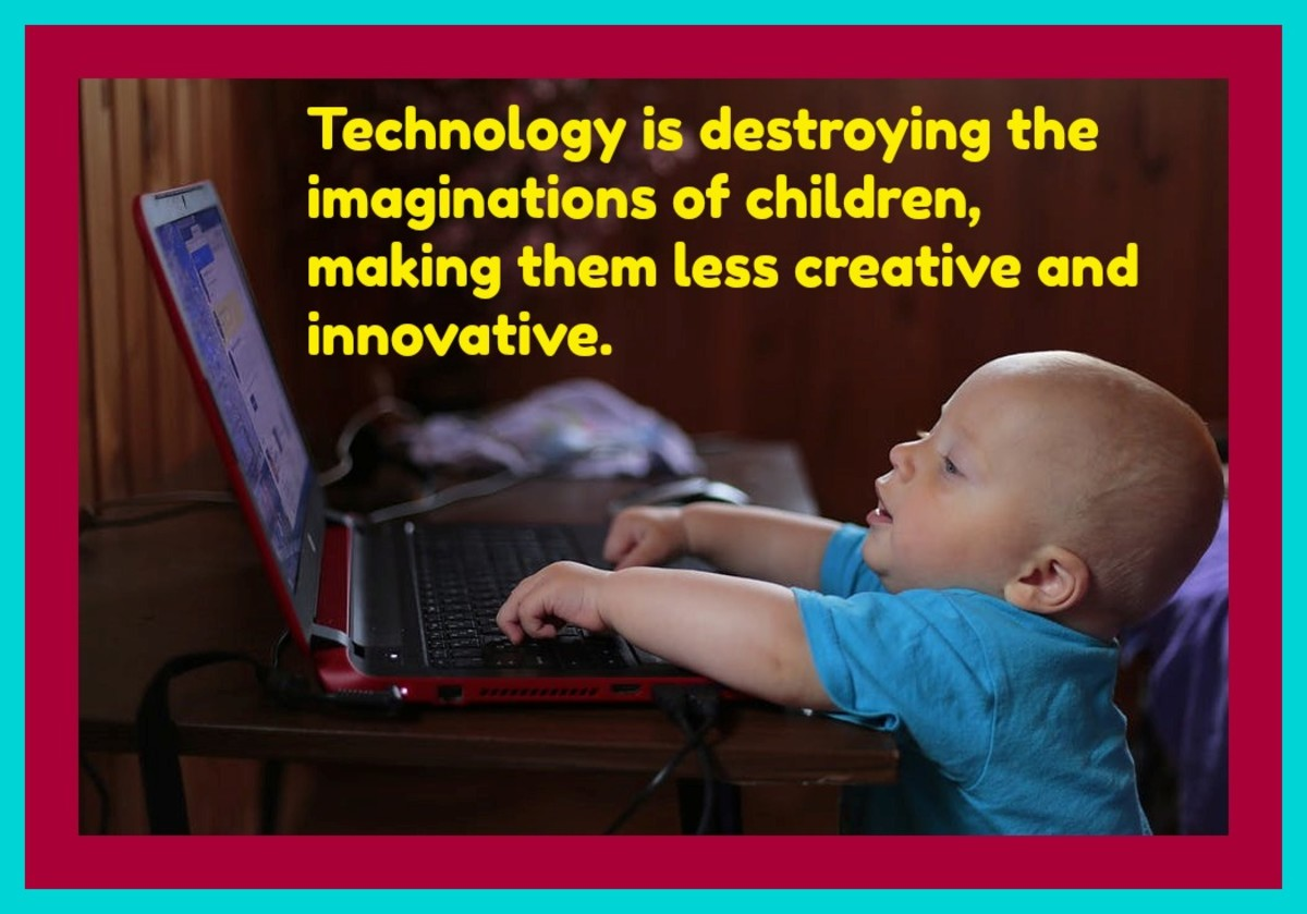 Young children are no longer doing the activities that build strong gross and fine motor skills. They're no longer engaging in play that stimulates their imaginations.