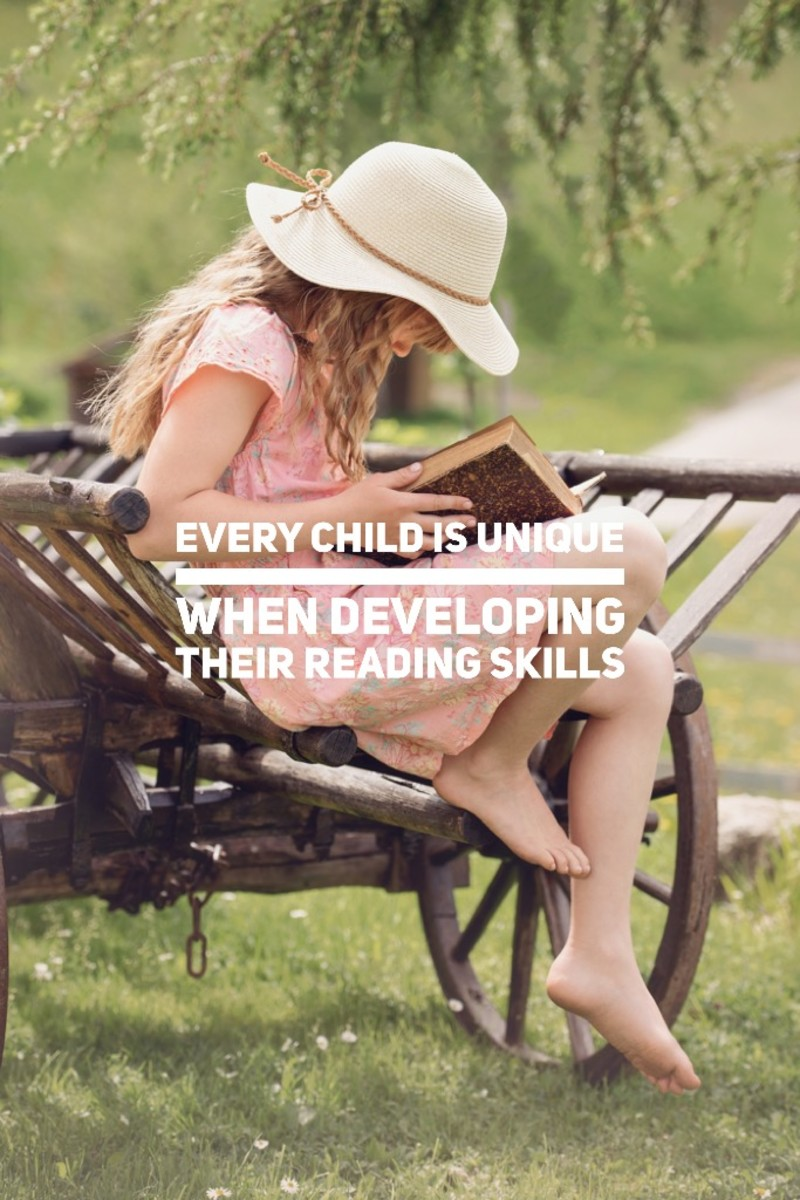 Every child is unique and will develop their reading skills in their own pace.