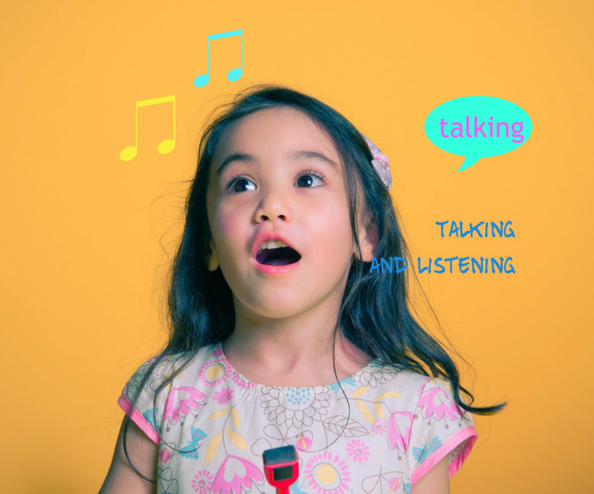 Your child will develop their talking and listening skills.