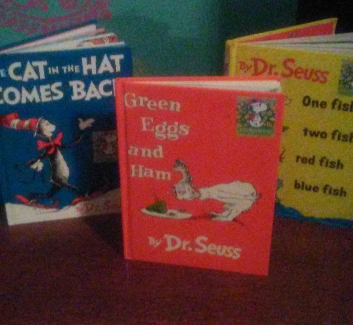 Reading Dr. Seuss books is fun for the whole family.