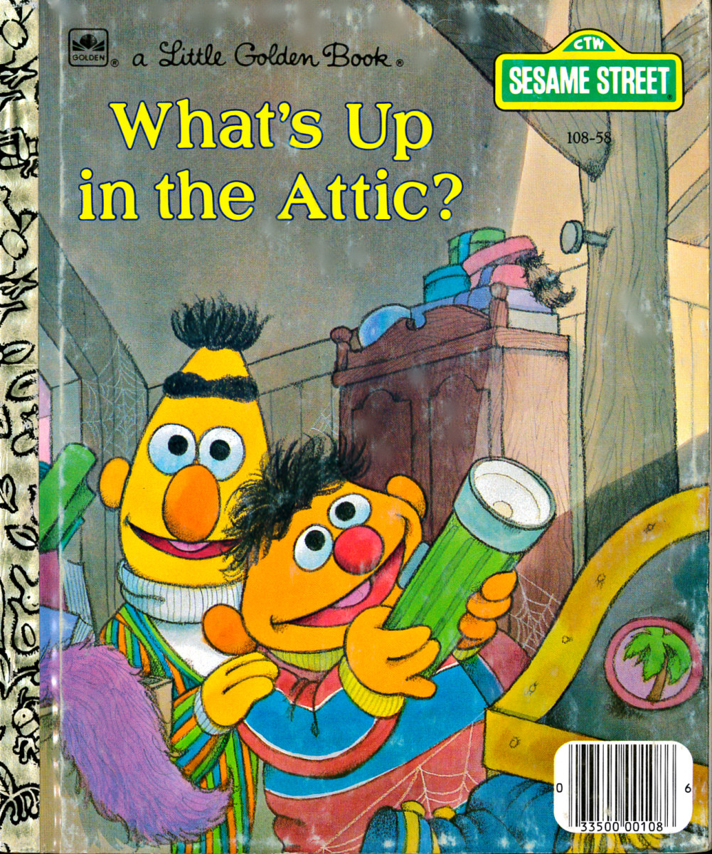 Ernie and Bert, are board and stuck inside their home on a gray and rainy day, so they go up to the attic, they were at first searching for the board game Duckie Land. But Instead, they find a treasure trove of amazing family mementos.