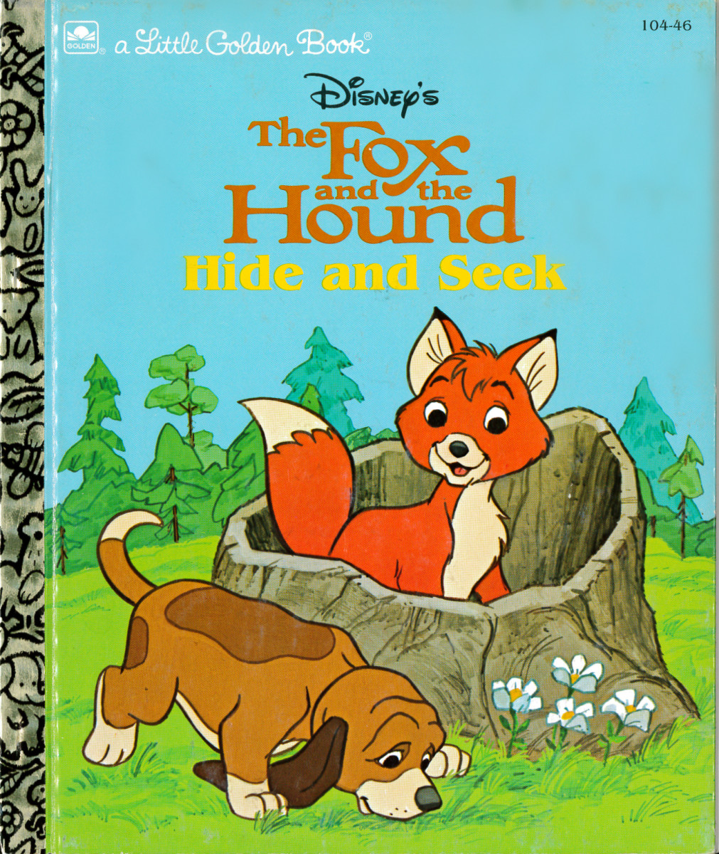 "The Fox and the Hound. ""Tod, a young fox, and Copper, a hound pup, love to play together every chance they get. When they get lost in the woods during a game of hide-and-seek, they learn that a true friend always sticks by you!"""