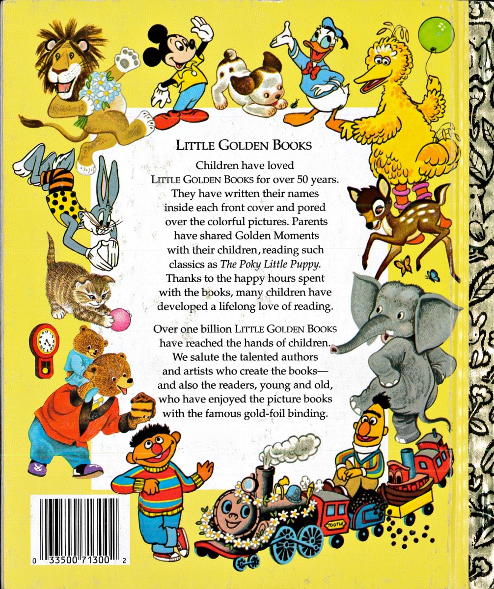 A true classic Golden Book, made by Western Publishing Company ... A great children book, picture book, with lots of preschool fun.