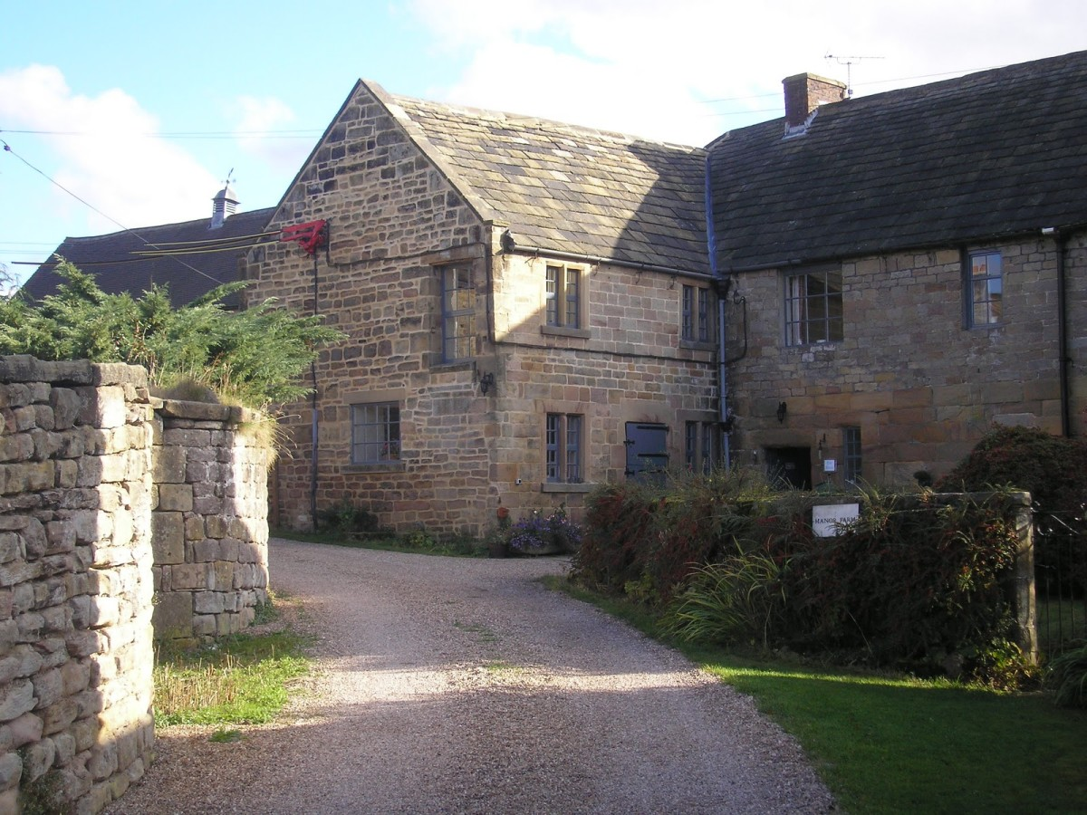 The real Babington house in Derbyshire.