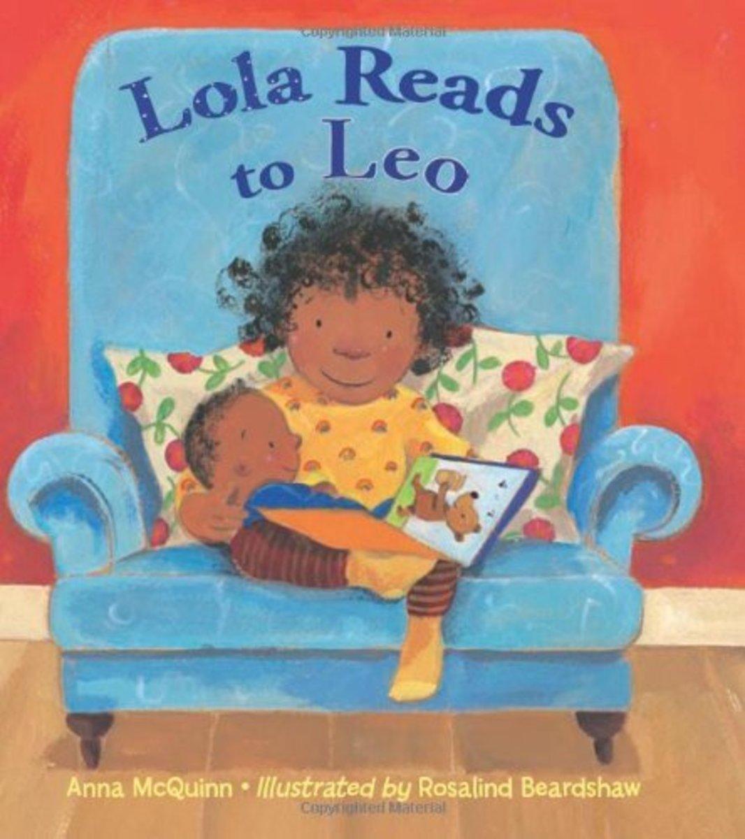 Lola Reads to Leo by Anna McQuinn