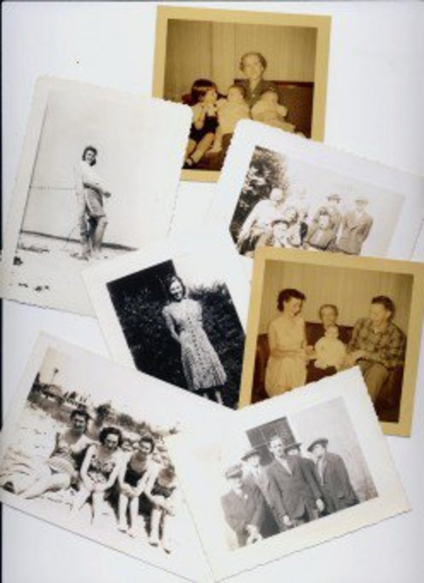 Without labels, any old photos you find in relatives' albums will be just that; mysterious pictures of people long passed away