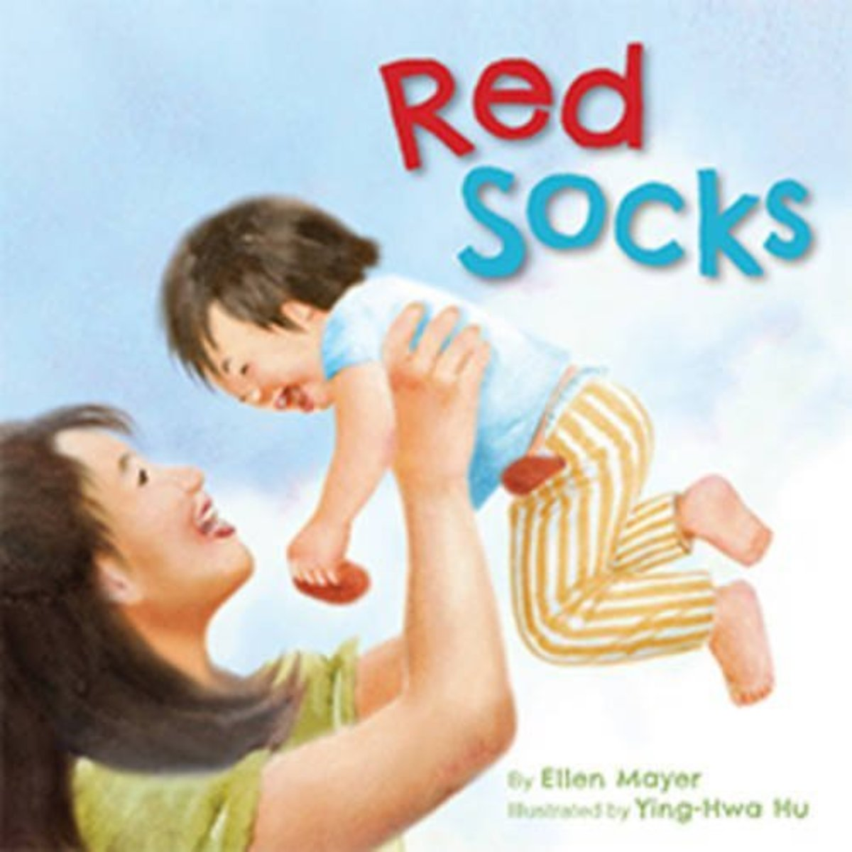 Red Socks by Ellen Mayer