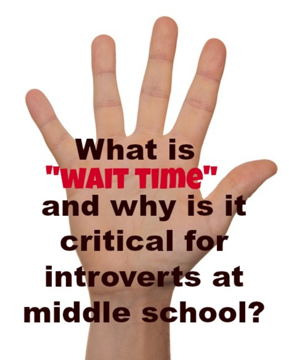 Wait time is an effective way to get all students—extroverts and introverts— involved in a classroom discussion.