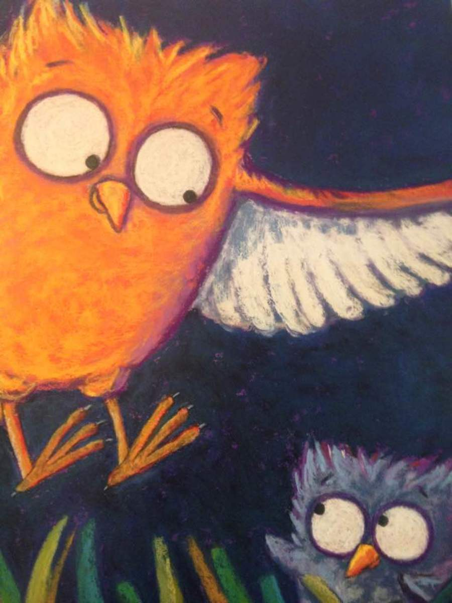Helakoski  contributes her talent as an illustrator to her book