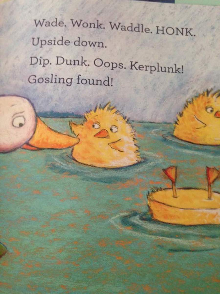 Creative use of funny words for language development