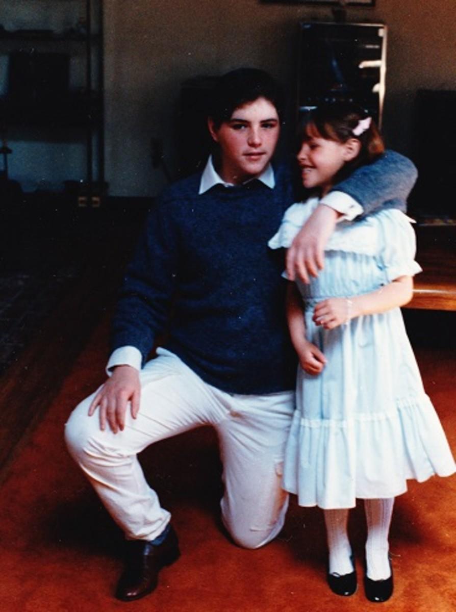 Alberto and Elizabeth 1986